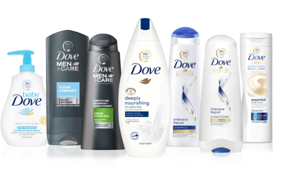 From next year Dove bottles will be made with 100 per cent recycled plastic | Credit: Dove