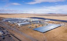 A solar plant at a Facebook data centre in New Mexico | Credit: Facebook