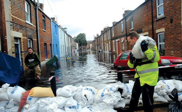 Flooding is set to get more intense and frequent due to climate change, the EA has warned