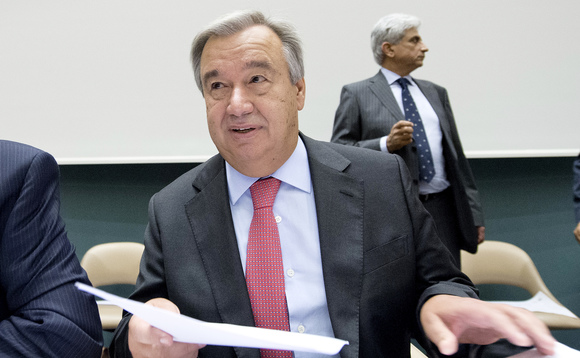 Guterres is increasingly firm about the need for countries to come to the September summit with fresh pledges | Credit: UNHCR J.M Ferré