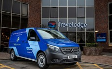 Travelodge checks in its first electric vans, as UPS pilots all-electric 'shifters'