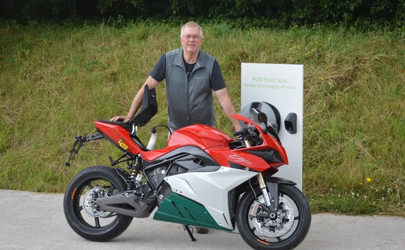 POD Point becomes preferred charge point supplier for Motocorsa electric motorbikes
