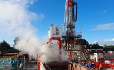 The United Downs Deep Geothermal Power site in Cornwall