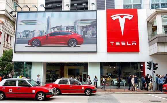 Tesla is likely to face increasing competition as fossil fuel car sales decline in favour of EV options