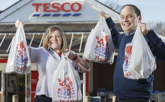 Tesco will stop selling 5p bags in stores from end of August 2017