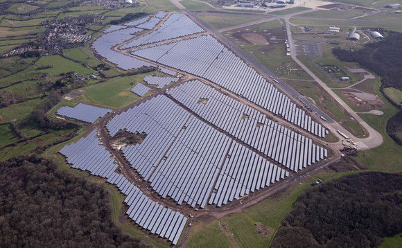 Shell has signed a five-year PPA to secure solar power from Bradenstoke solar farm | Credit: BSR