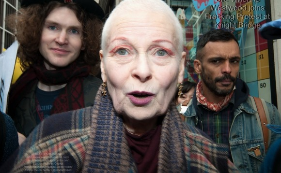 Vivienne Westwood teams up with Ecotricity for renewable energy push