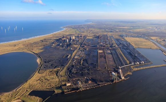 The Teesworks site where BP is planning a major CCS project| Credit: BP