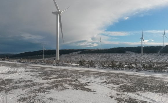 Vattenfall lights up first turbine at Clashindarroch wind farm