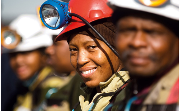 An Anglo-American miner in South Africa | Credit: Anglo-American