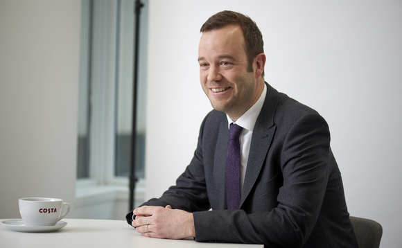 James Pitcher, Whitbread's director of sustainability