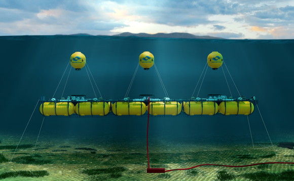 The WaveSub will now be put through its paces in Cornish waters | Credit: Marine Power Systems