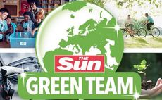 Energy-saving, plant-eating, and green body paint: The Sun launches Green Team campaign