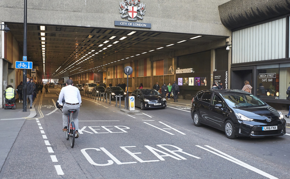 Beech Street, where the City of London Corporation plans to ban petrol and diesel cars | Credit: City of London