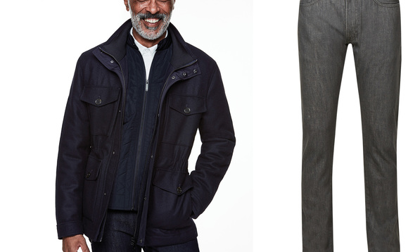M&S has launched a new range of sustainable denim for men | Credit: M&S