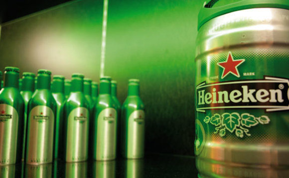 Thirsty work: Heineken aims to replenish 'Every Drop' of water it uses by 2030
