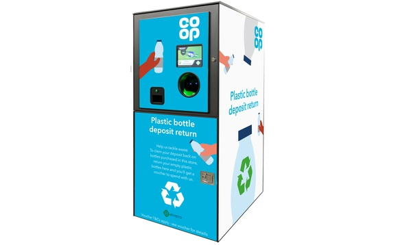 Co-op is to deploy its new reverse vending machines at some of the UK's most popular music festivals / CREDIT: Co-op
