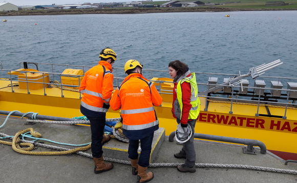 Scotrenewables Tidal Power SR2000 | Credit: EMEC