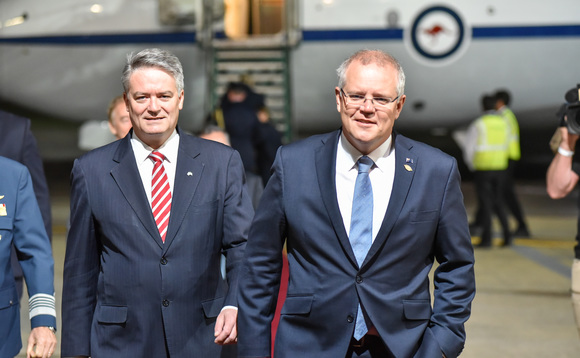 Australian PM Scott Morrison arrives at the G20 summit in Argentina last year | Credit: G20 Argentina