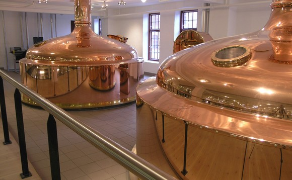 Copper kettles at the Jacobsen brewhouse | Credit: Carlsberg