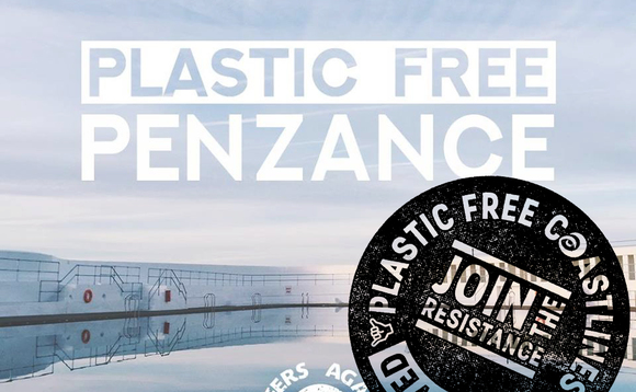 Penzance hailed as UK's first 'Plastic Free' community