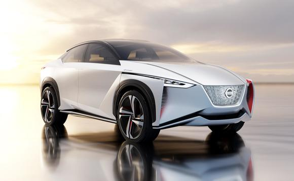The Nissan IMx crossover concept vehicle offers fully autonomous driving capability | Credit: Nissan