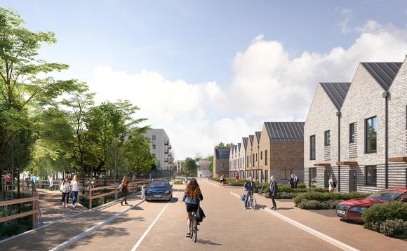 An artists impression of a Legal & General model homes development | Source: Legal & General