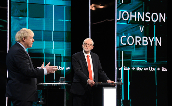 Johnson and Corbyn went head-to-head in an ITV debate earlier this month | Credit: ITV/PA Wire
