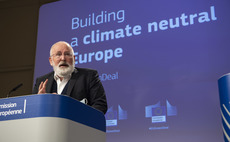Frans Timmermans announced a flurry of new Green Deal strategies this week | Credit: Lukasz Kobus / EU Commission