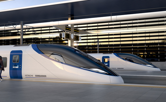 Hitachi and Bombardier's proposed HS2 design | Credit: Hitachi