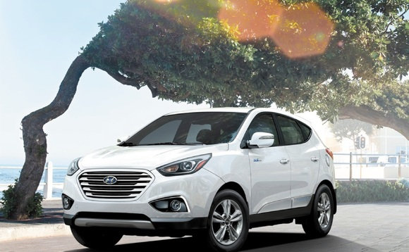 Hyundai eyes mass market for fuel cell cars with California launch