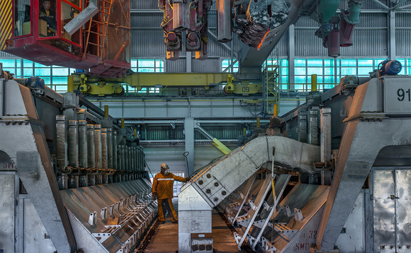 A Rusal smelting operation | Credit: EN Group +