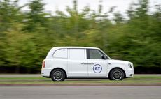 BT joins LEVC electric 'taxi van' trial