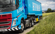 A biofuel powered truck owned by haulage company Hymas | Credit: Zemo Partnership