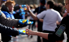 Thirsty runners to bag edible seaweed pouches at London Marathon