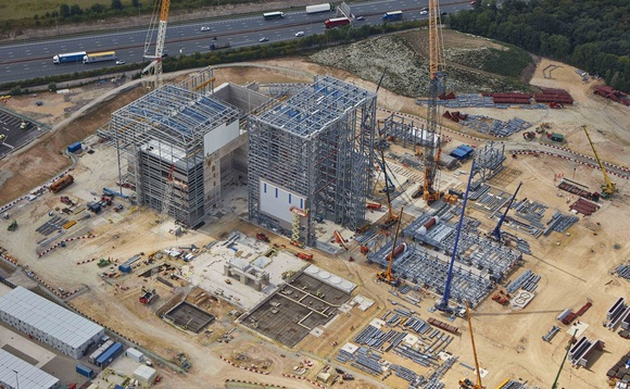 Ferrybridge Multifuel 2 under construction | Credit: Wheelabrator Technologies