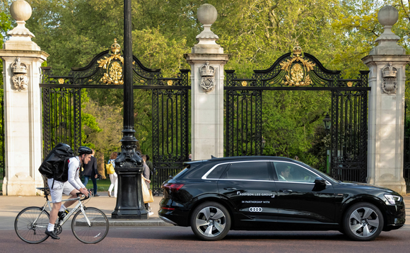 Addison Lee and Audi power up electric chauffeur fleet