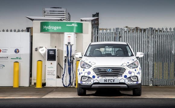 Among many uses hydrogen can be used as a transport fuel | Credit: Air Products