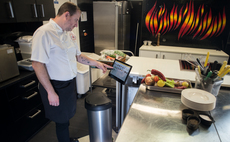 Meet the smart bin technology helping kitchens slash food waste