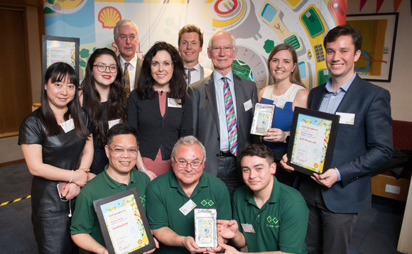 Regional winners of the Shell Springboard competition | Credit: Shell