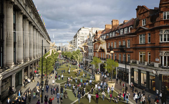 Green shopping? Plans to pedestrianise Oxford Street unveiled