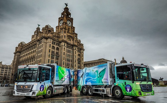 Liverpool waste collection to be powered by… waste
