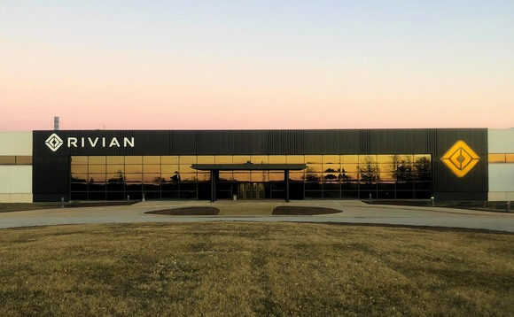 EV start-up Rivian's factory in Normal, Illinois