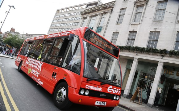 Nottingham council bus fleet to go fully electric