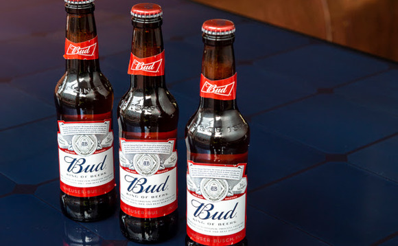 Budweiser is one of the brands ABInBev will produce with green power | Credit: AB InBev