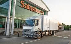 World first: Sainsbury's trials delivery truck cooled by liquid nitrogen