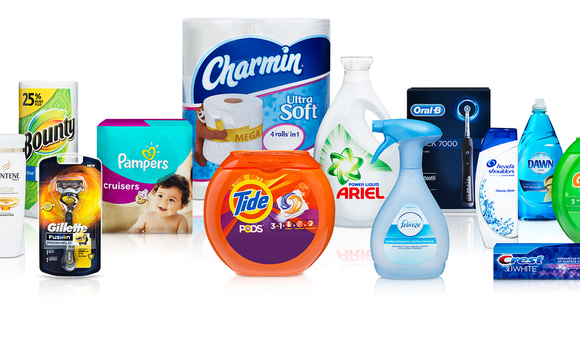 P&G products | Credit: Procter & Gamble