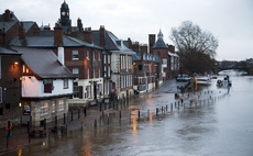 The River Ouse floods the centre of York | Credit: iStock