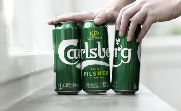 Carlsberg's new Snap Pack technology is reducing plastic use, cutting CO2 and engaging consumers on climate issues, Carlsberg claims | Credit: Carlsberg