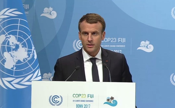 Emmanuel Macron believes the pandemic will lead to societal changes which benefit the environment